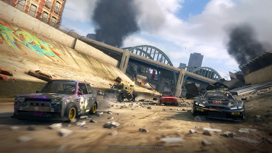 Osmnáct obrázků z destruktivního MotorStorm: Apocalypse 32336