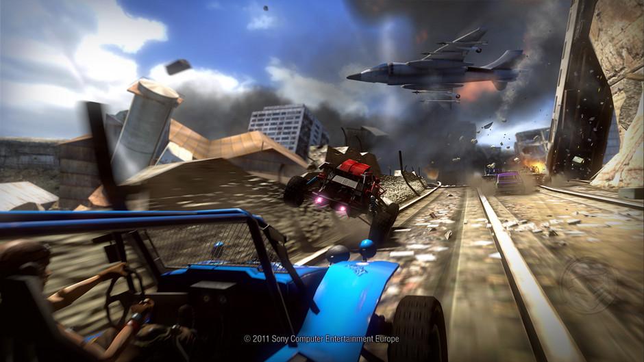 Osmnáct obrázků z destruktivního MotorStorm: Apocalypse 32337