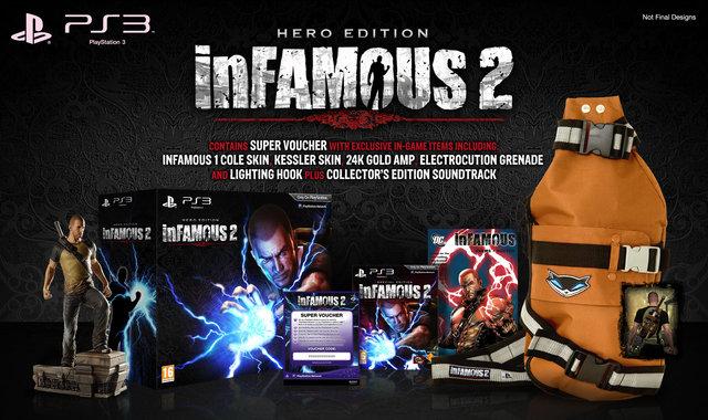 inFamous 2 v červnu a se speciálními edicemi pro Evropu 32339