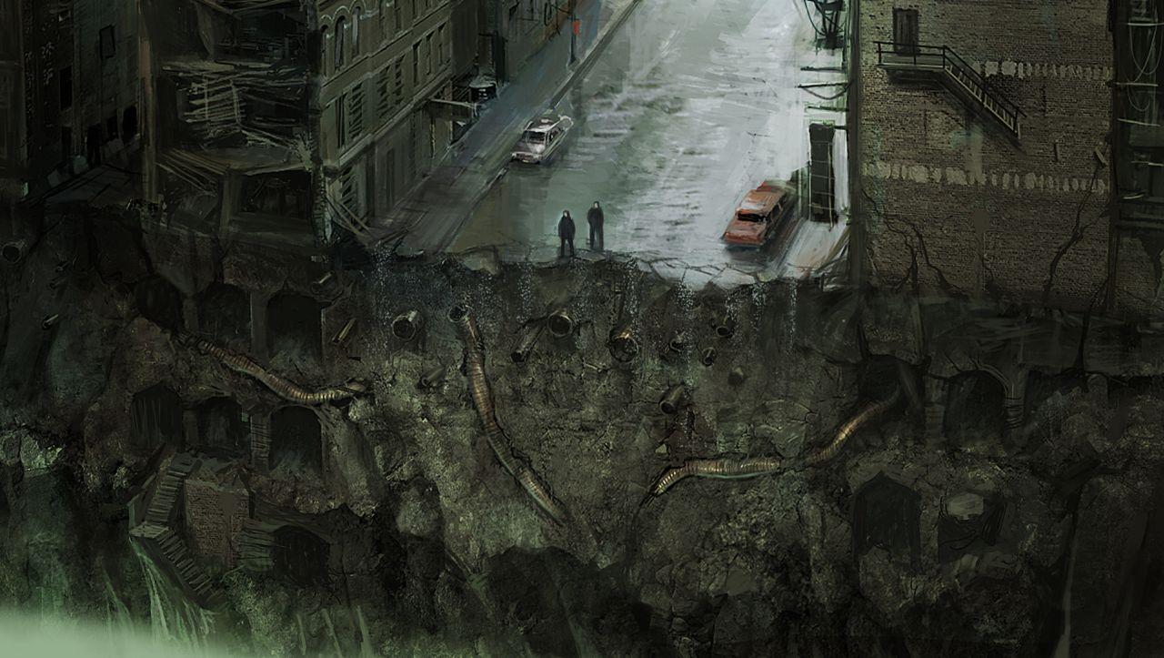 Potemnělé obrázky z promoklého Silent Hill: Downpour 32823