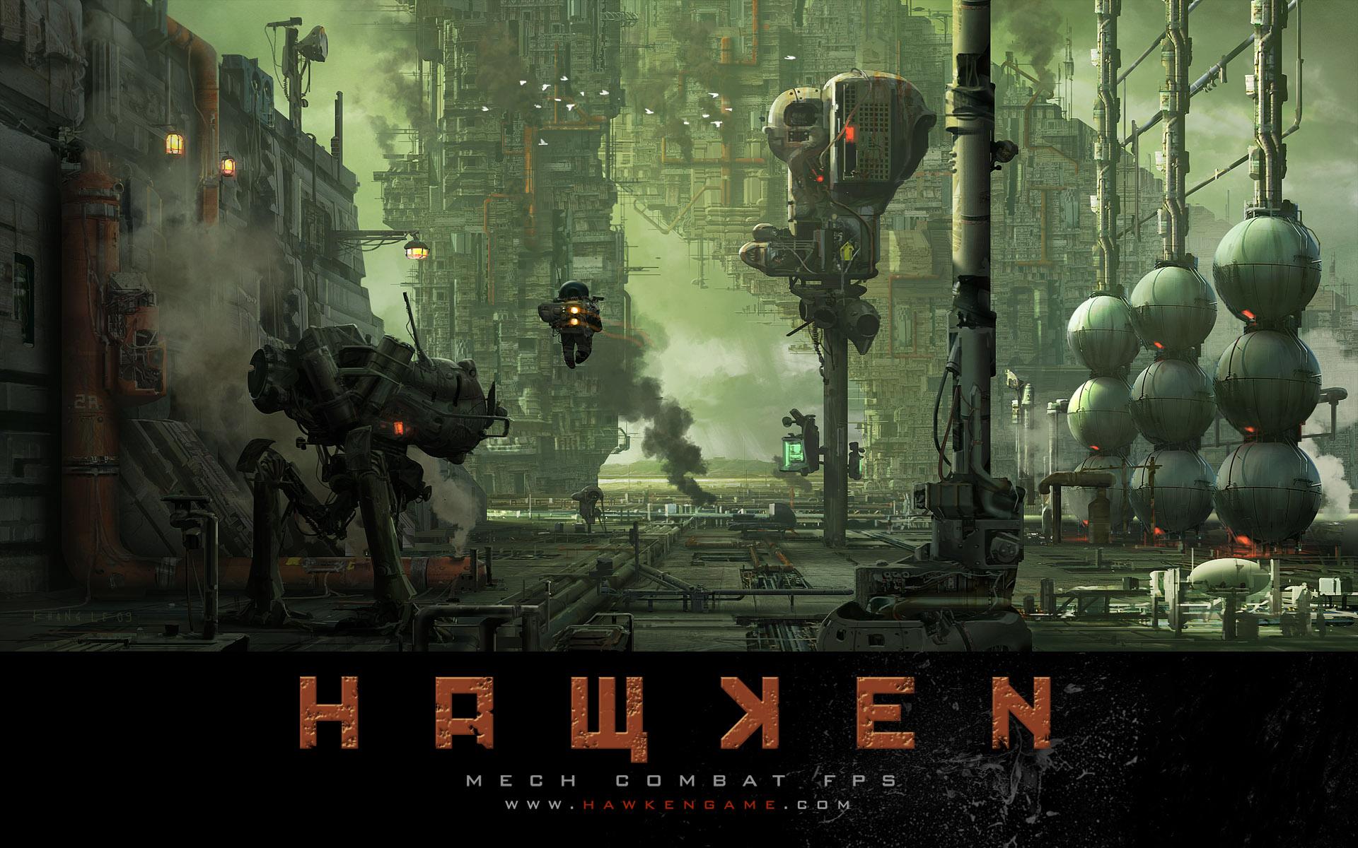 Hawken - indie mechy na profi úrovni 33870