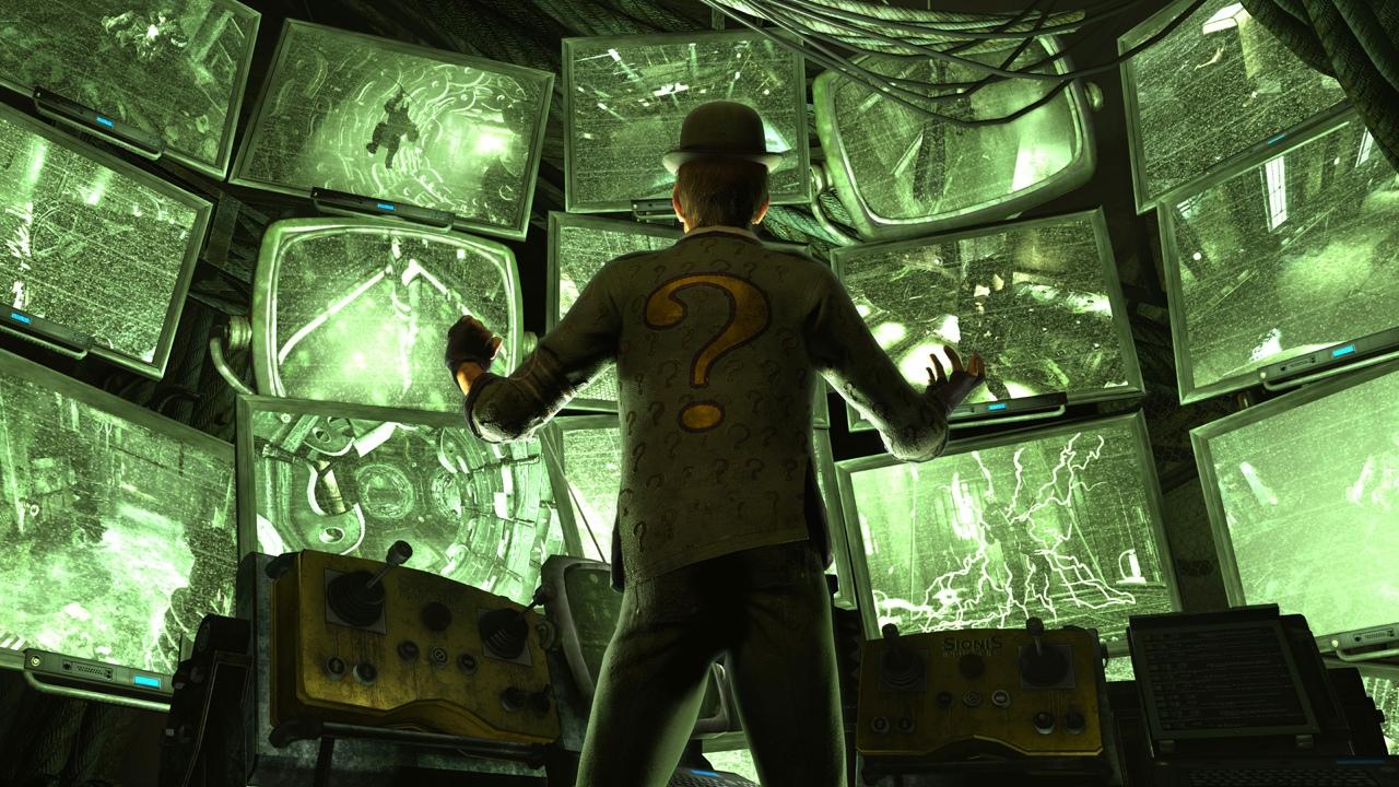 Riddler si Arkham City pořádně podá 34327