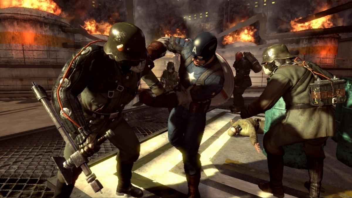 Captain America: Super Soldier – když má Batman dovolenou 34966