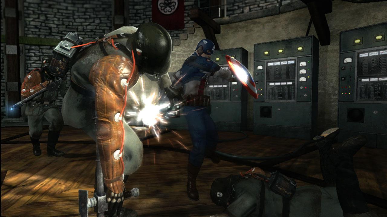 Captain America: Super Soldier – když má Batman dovolenou 35085