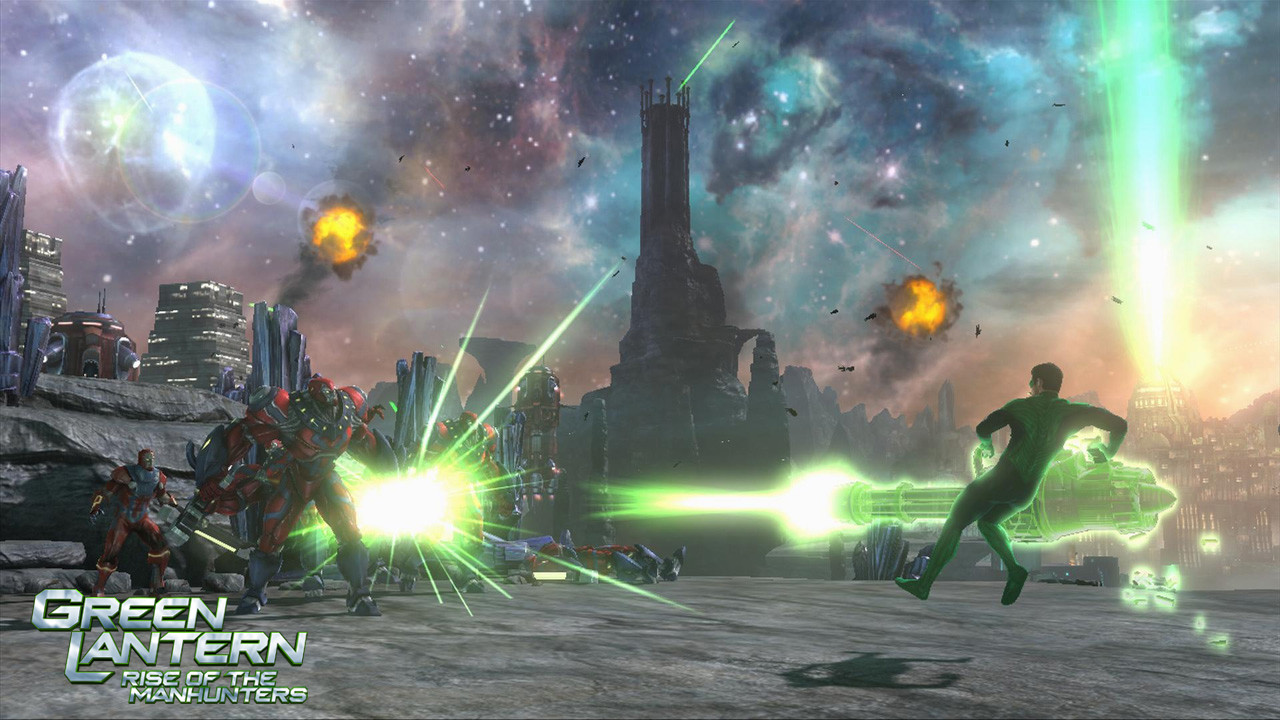 Green Lantern: Rise of the Manhunters - nyní je v módě zelená 36857