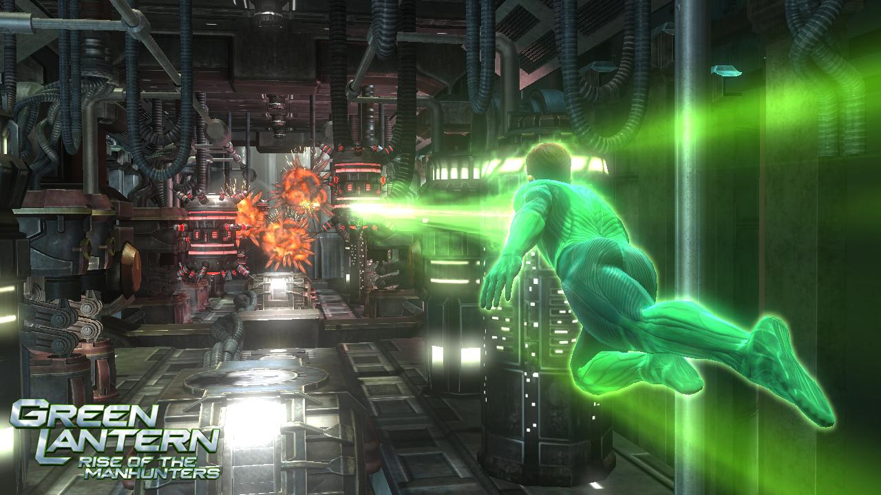 Green Lantern: Rise of the Manhunters - nyní je v módě zelená 36862