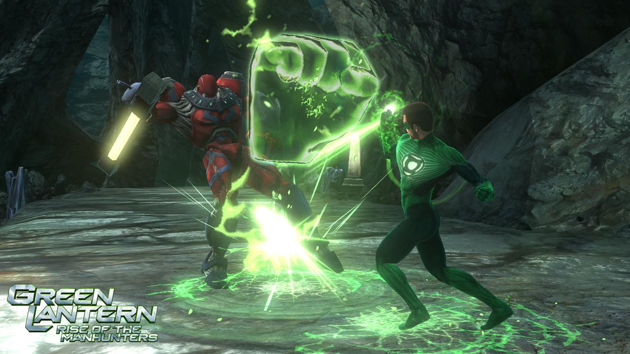 Green Lantern: Rise of the Manhunters - nyní je v módě zelená 36863