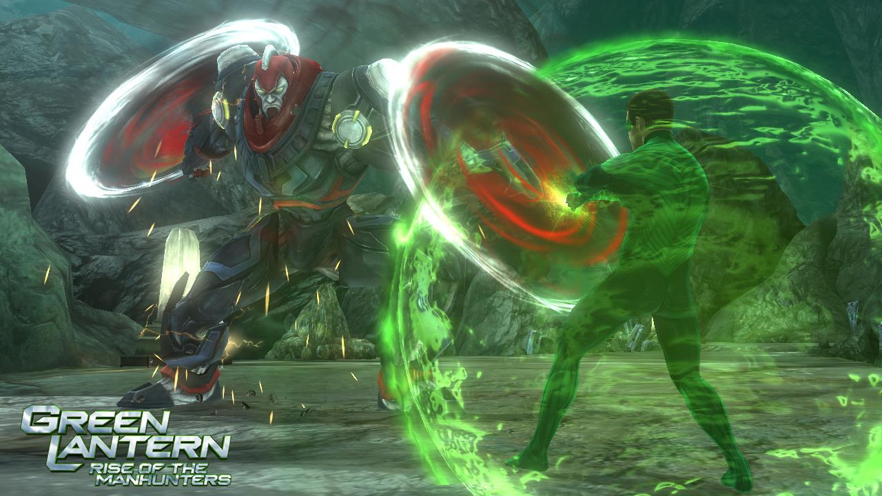 Green Lantern: Rise of the Manhunters - nyní je v módě zelená 36866
