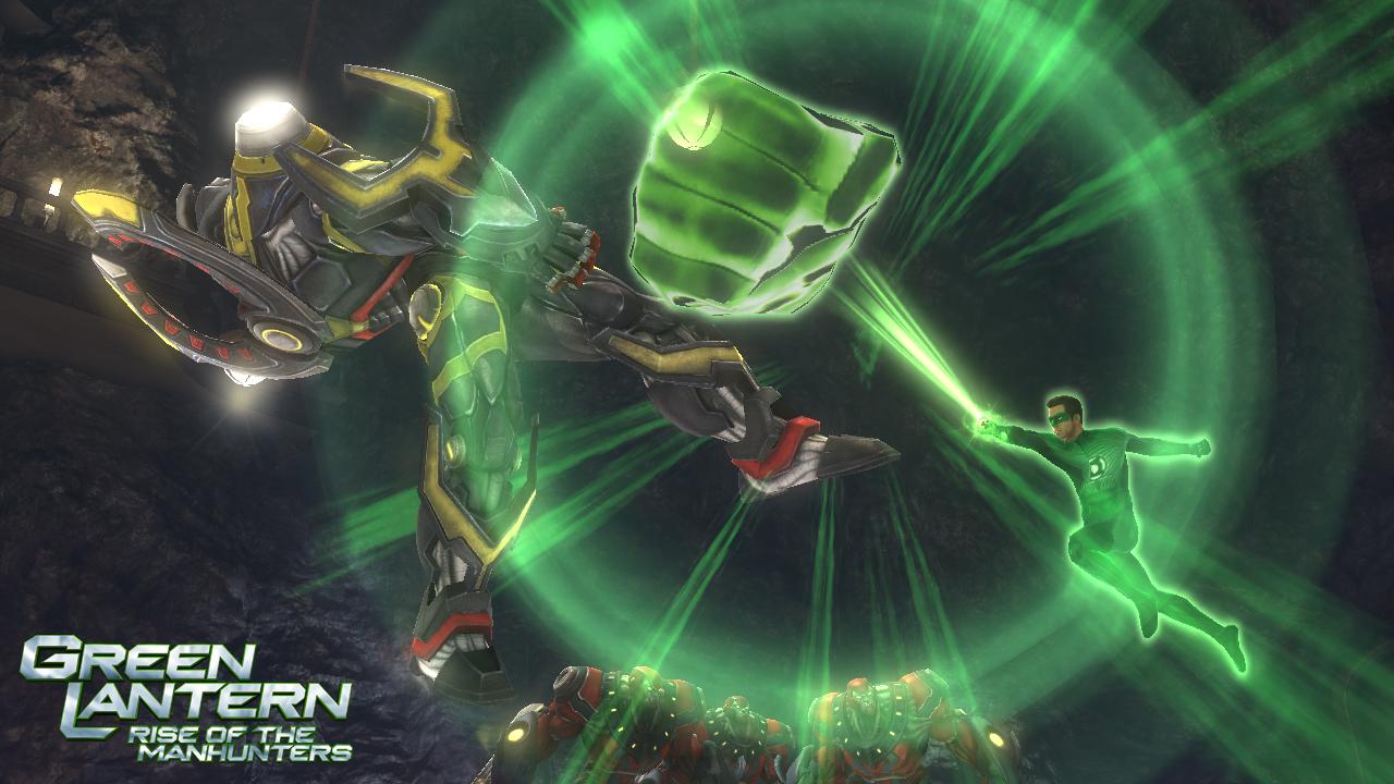 Green Lantern: Rise of the Manhunters - nyní je v módě zelená 36867