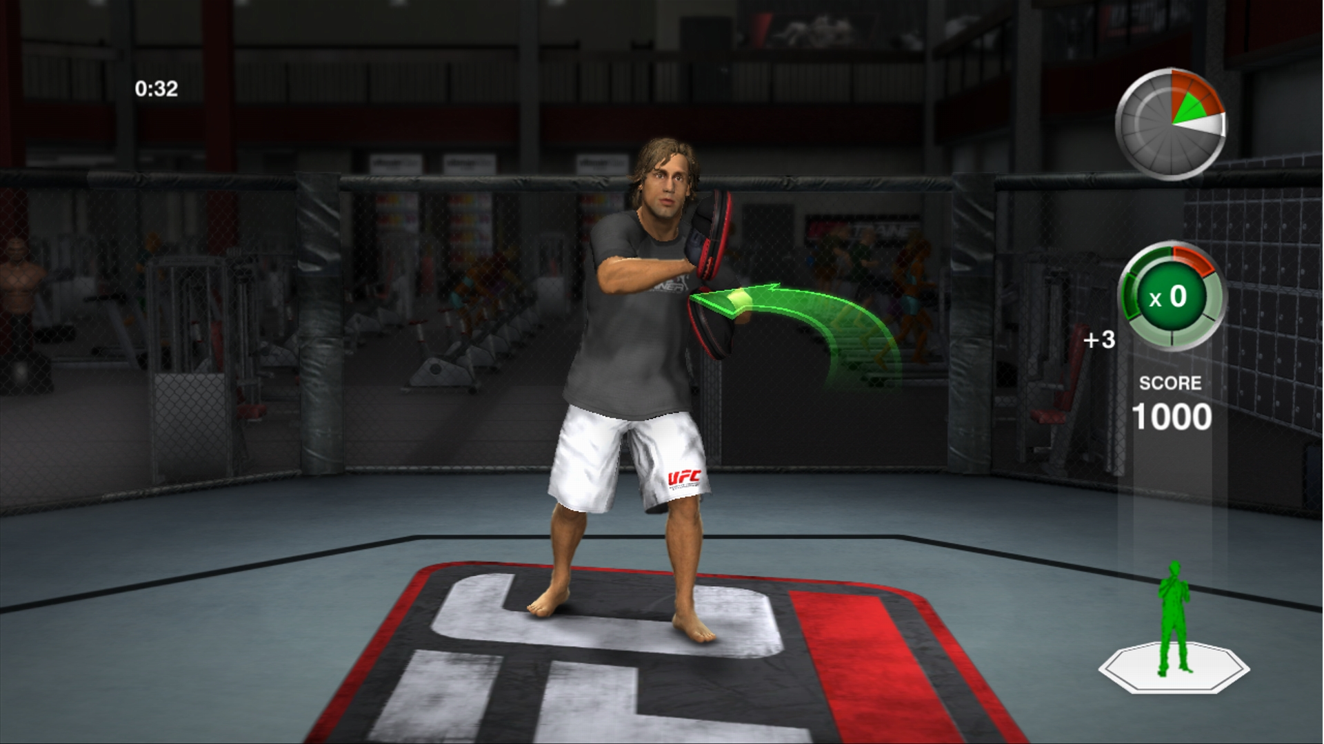 THQ odhaluje trenažér UFC Trainer + galerie 37279