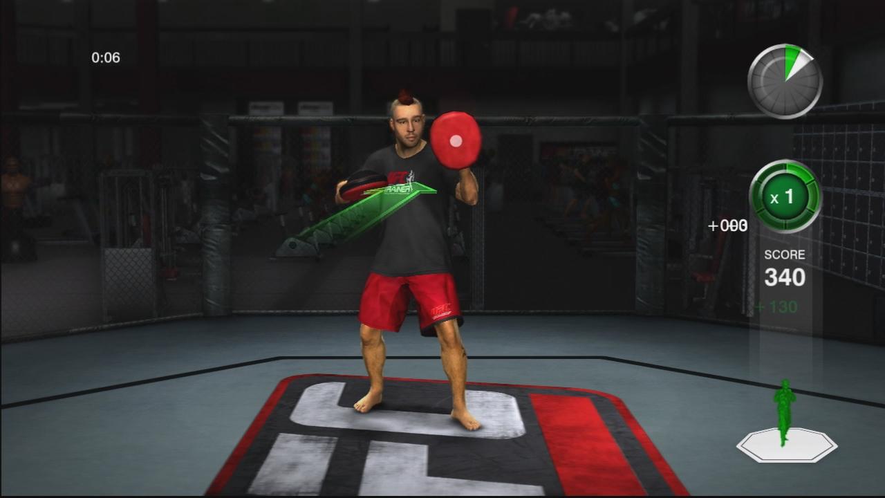 THQ odhaluje trenažér UFC Trainer + galerie 37282