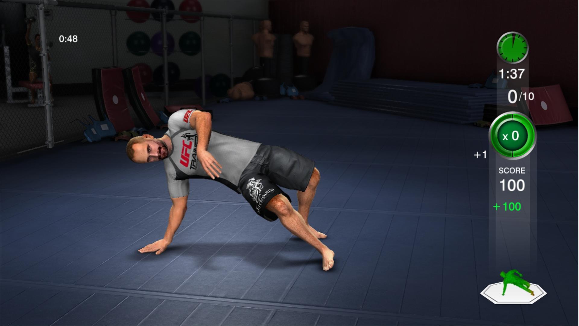 THQ odhaluje trenažér UFC Trainer + galerie 37283