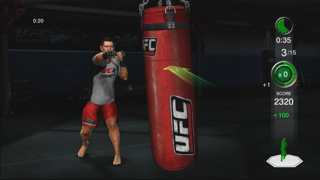 THQ odhaluje trenažér UFC Trainer + galerie 37284