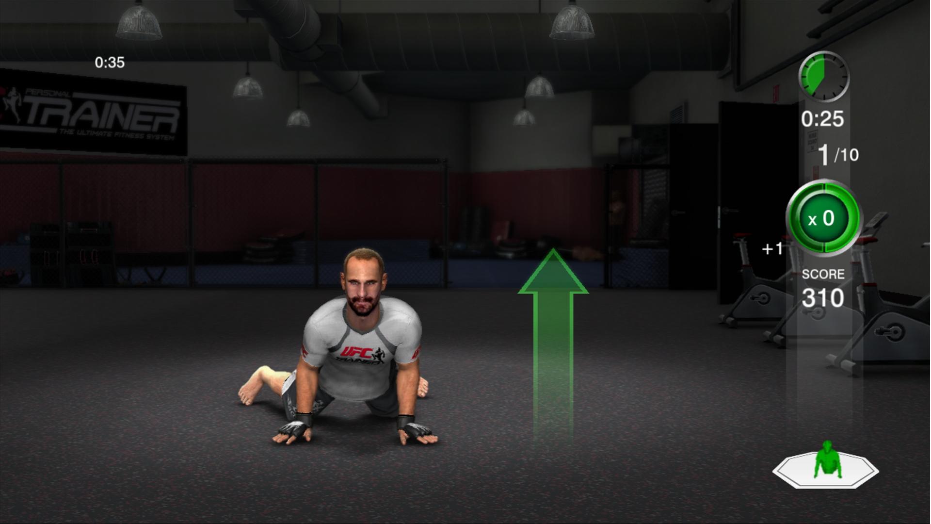THQ odhaluje trenažér UFC Trainer + galerie 37285