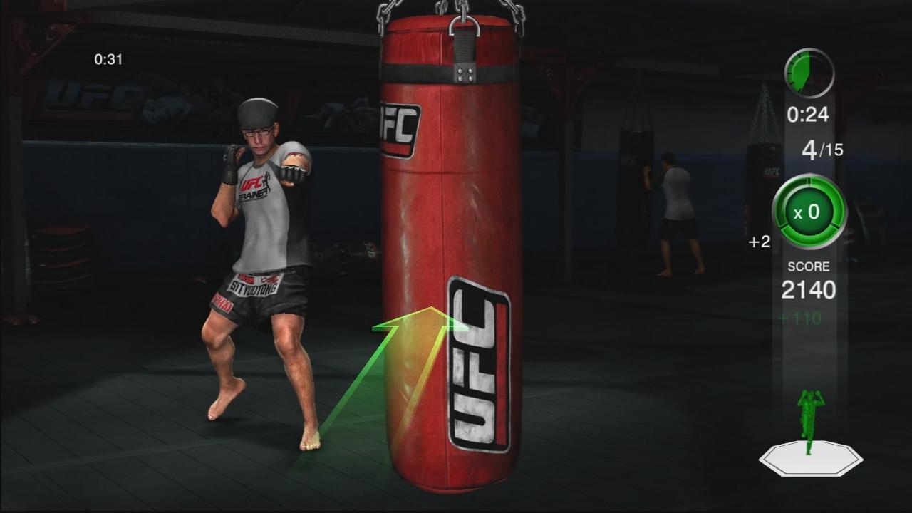 THQ odhaluje trenažér UFC Trainer + galerie 37286