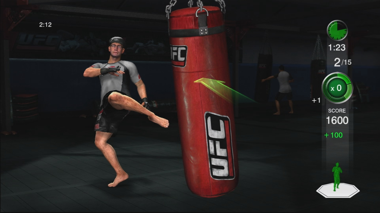 THQ odhaluje trenažér UFC Trainer + galerie 37287