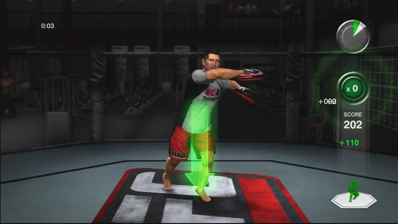 THQ odhaluje trenažér UFC Trainer + galerie 37288