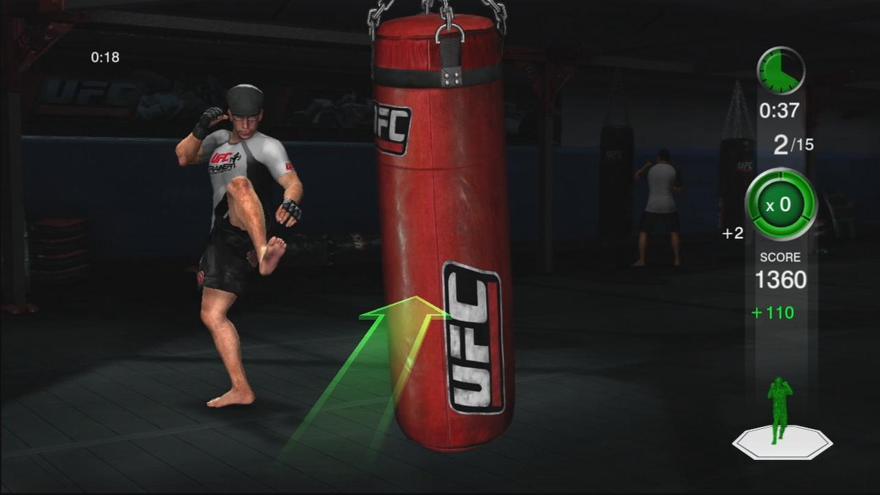 THQ odhaluje trenažér UFC Trainer + galerie 37289
