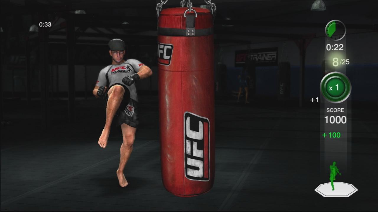 THQ odhaluje trenažér UFC Trainer + galerie 37290
