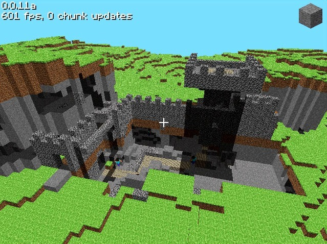Adventure update pro Minecraft se zdrží 37311