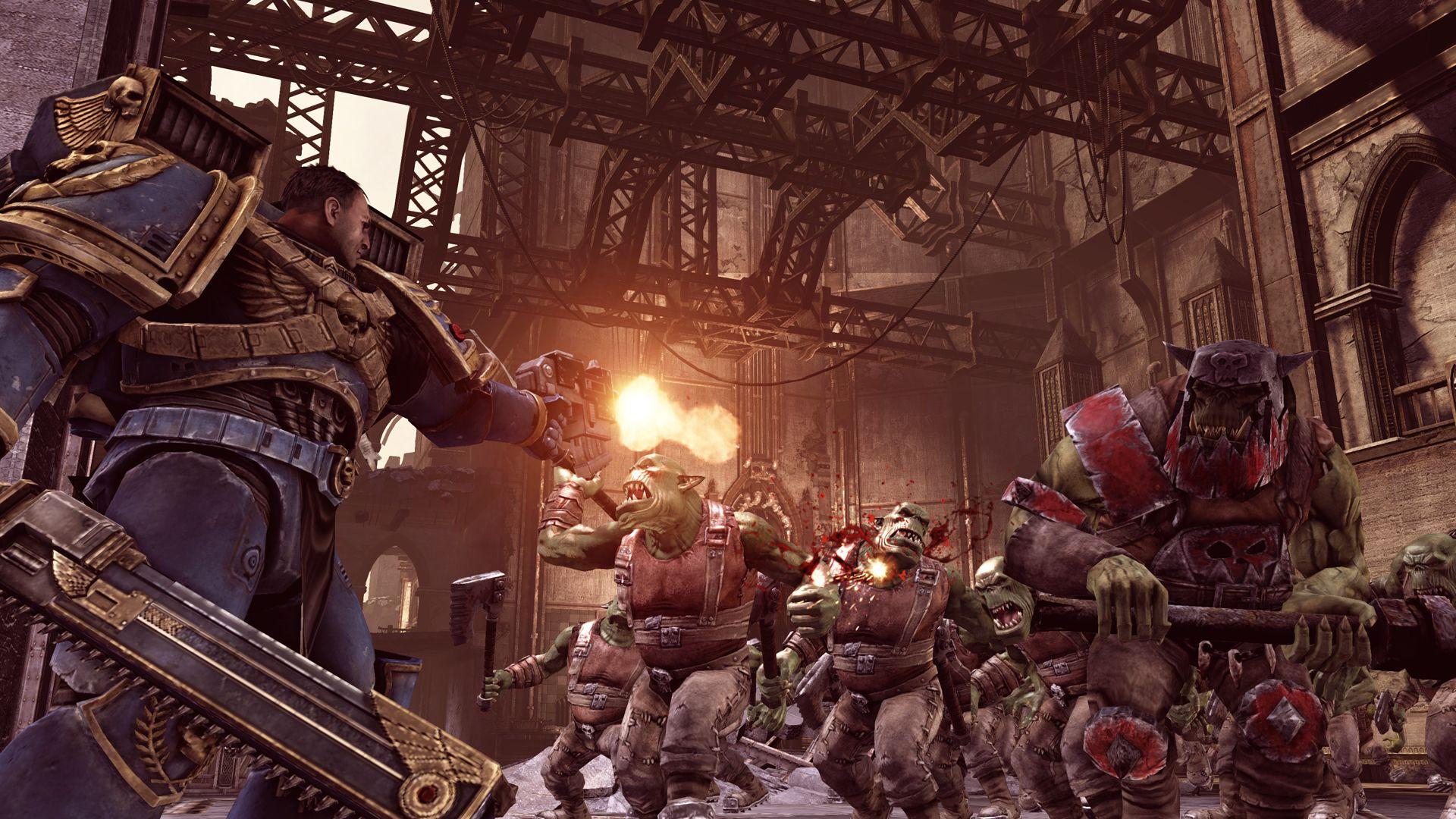 Warhammer 40,000: Space Marine – sympatická jatka 38753