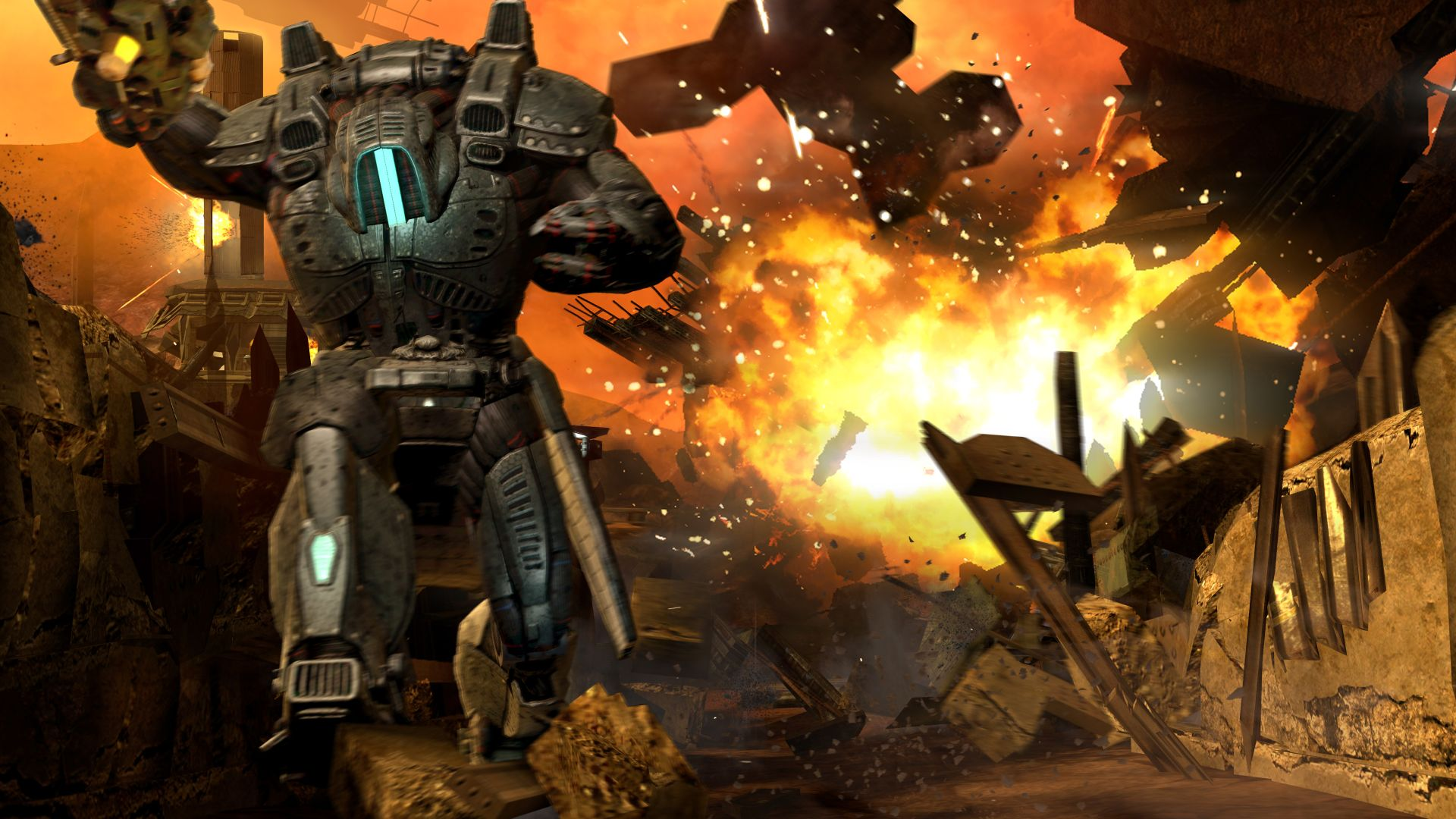 Red Faction: Armageddon – megalomanská horská dráha 39174