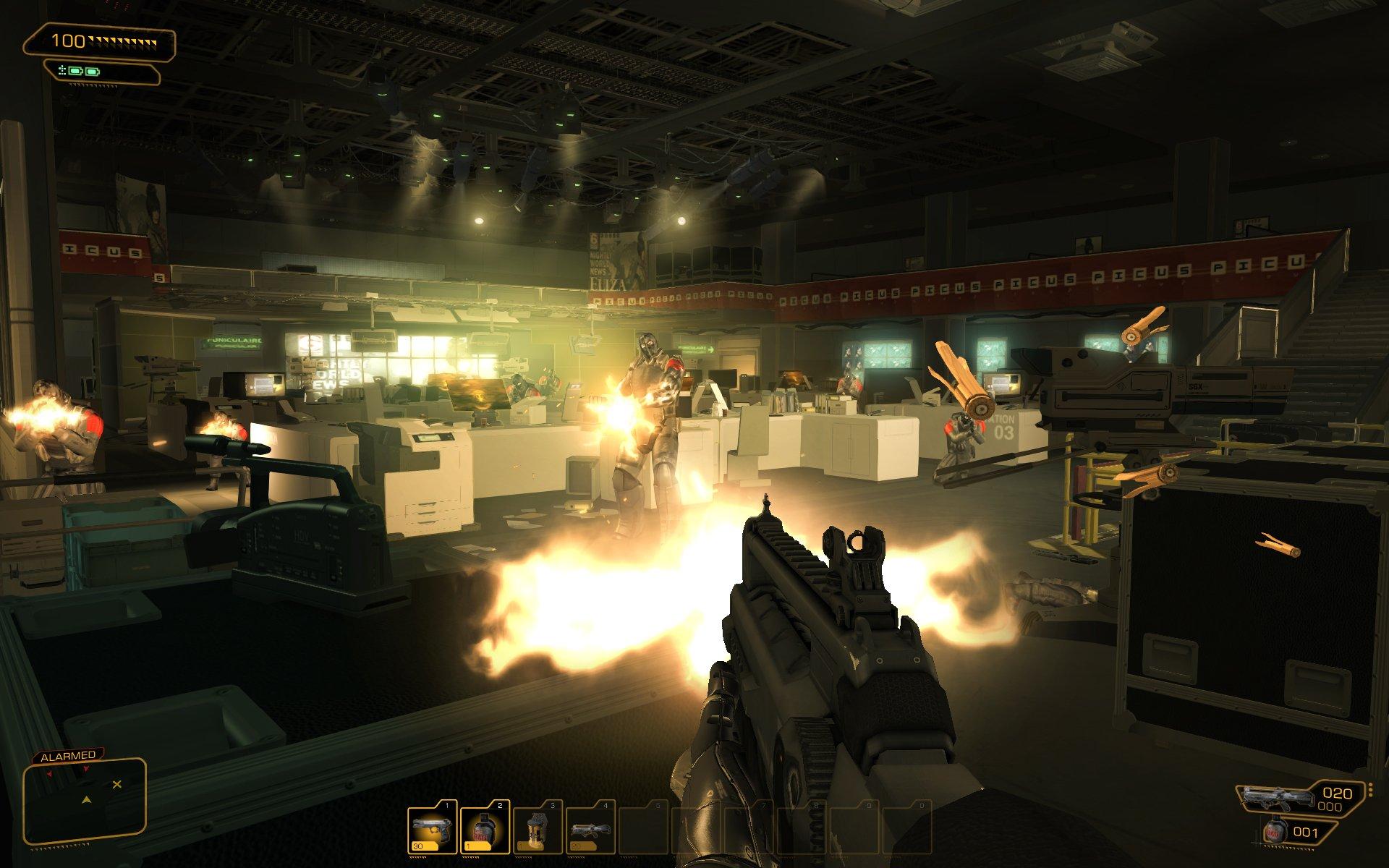 Deus Ex: Human Revolution už nabízí patch 39587