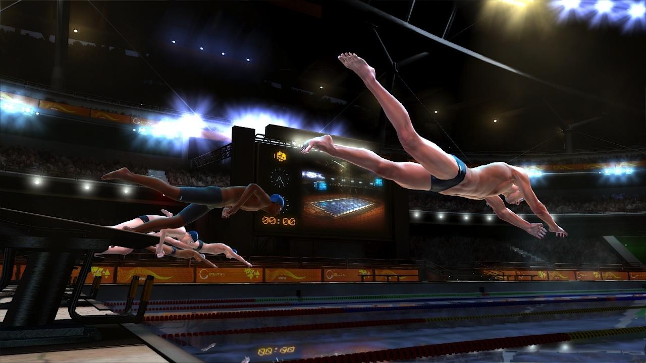 Závody v plavání na Kinectu s Michaelem Phelpsem 39660