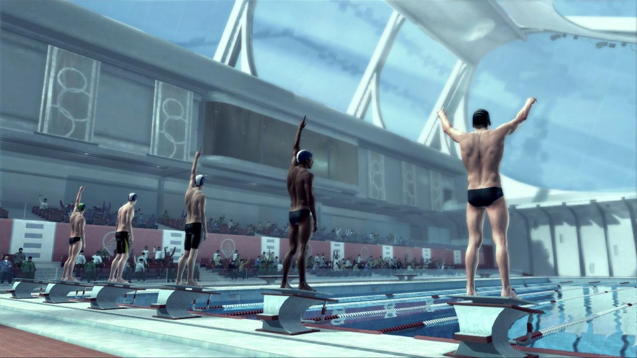 Závody v plavání na Kinectu s Michaelem Phelpsem 39668