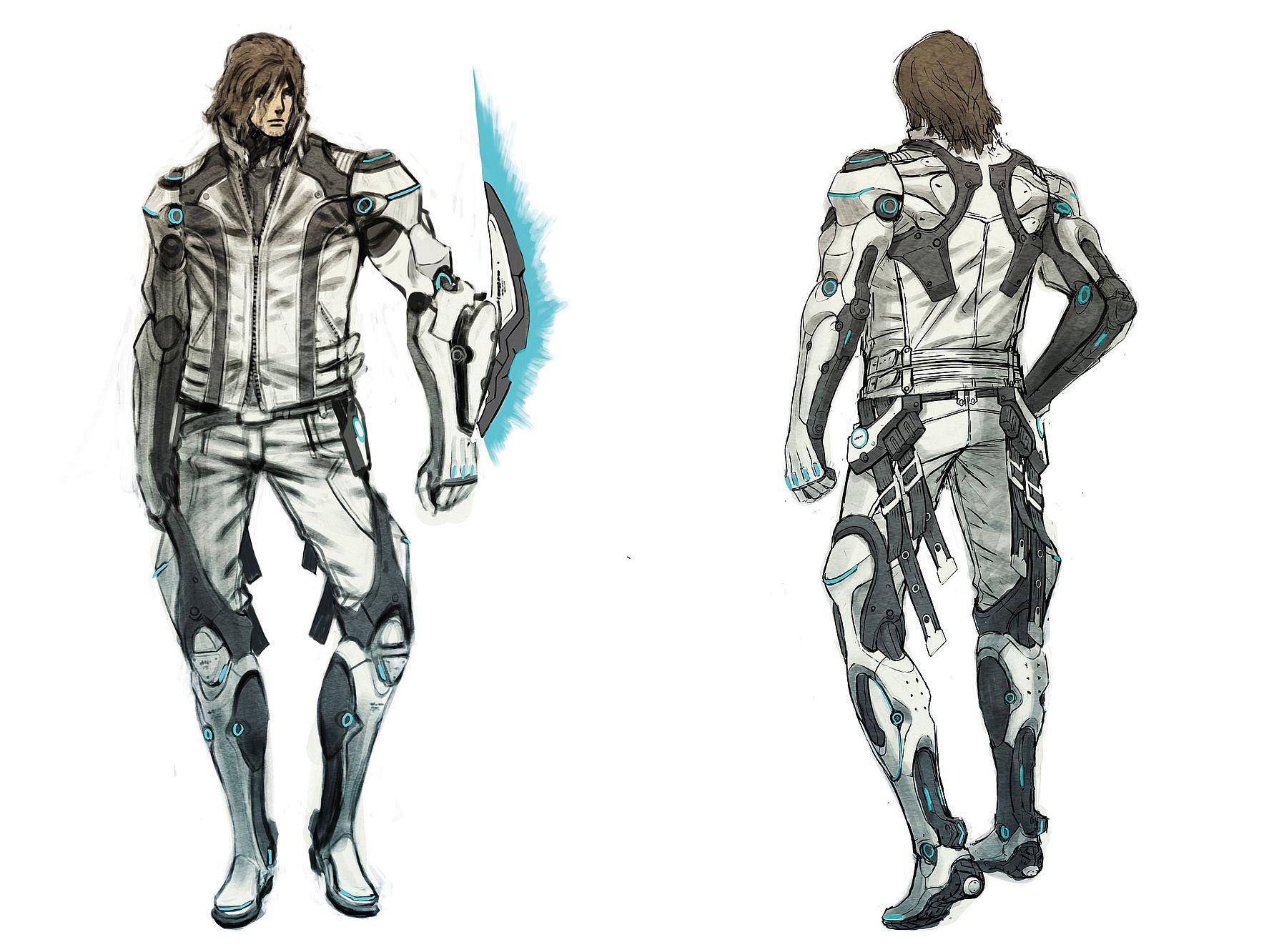 Kyborg Leo v akční bojovce Anarchy Reigns 41957