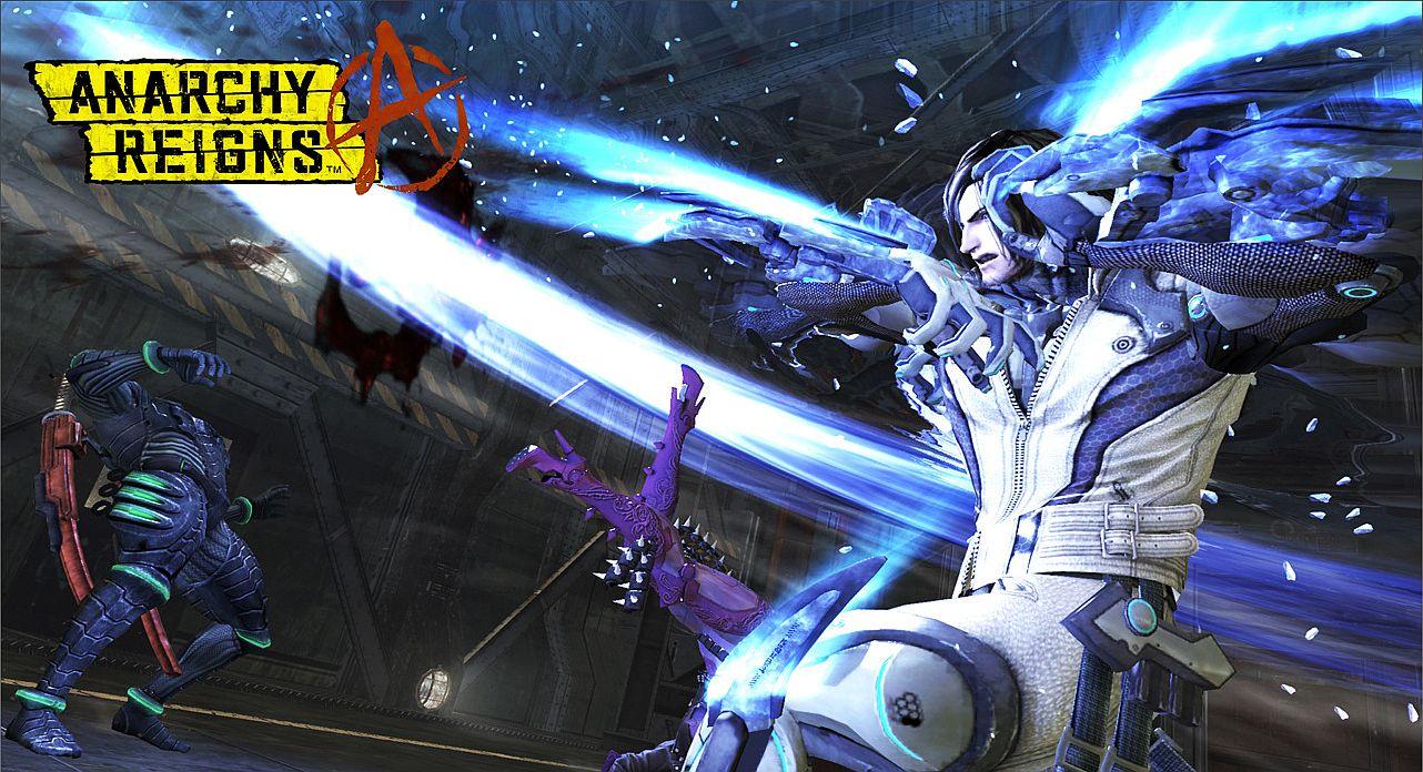 Kyborg Leo v akční bojovce Anarchy Reigns 41959