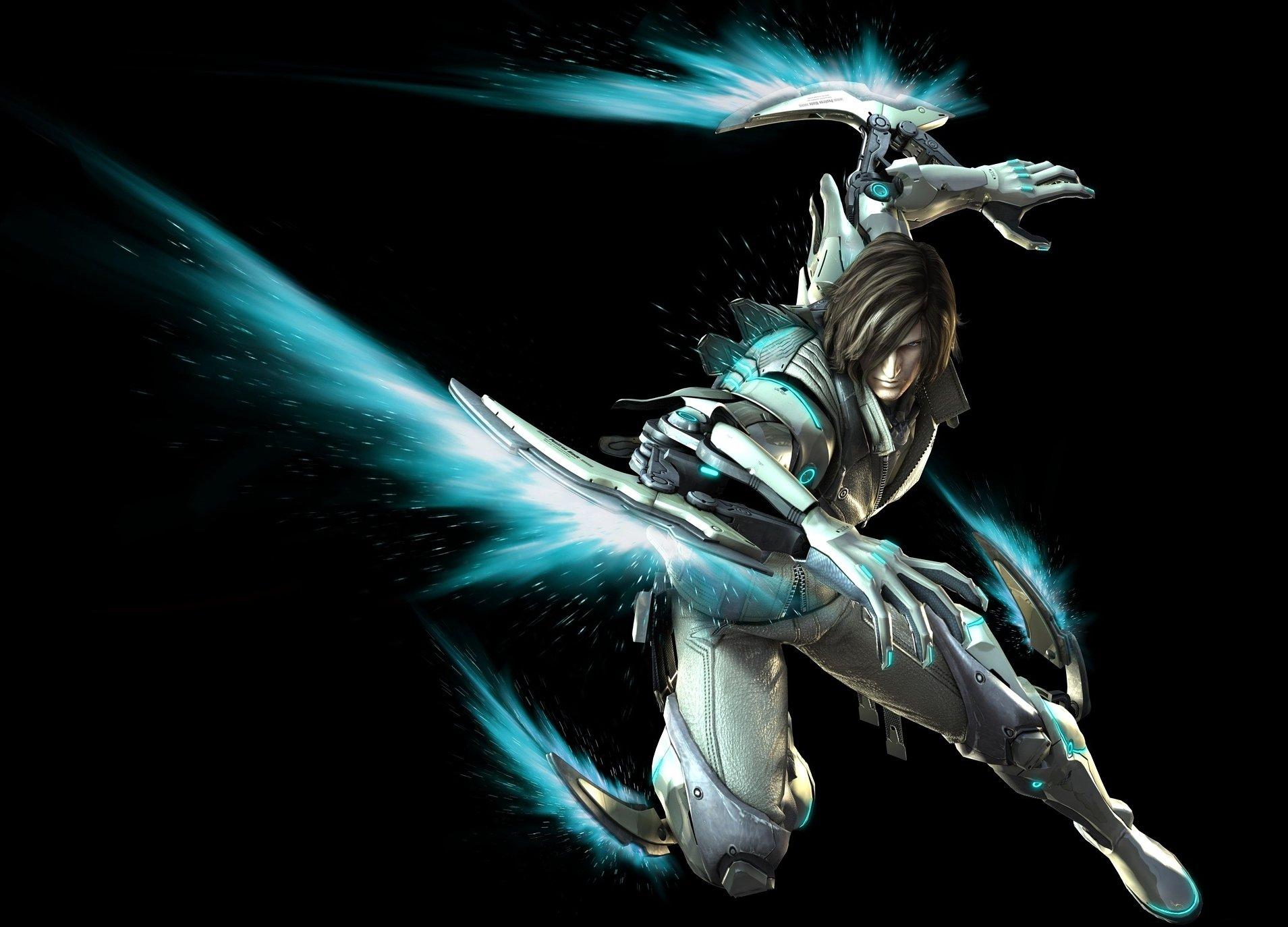 Kyborg Leo v akční bojovce Anarchy Reigns 41960