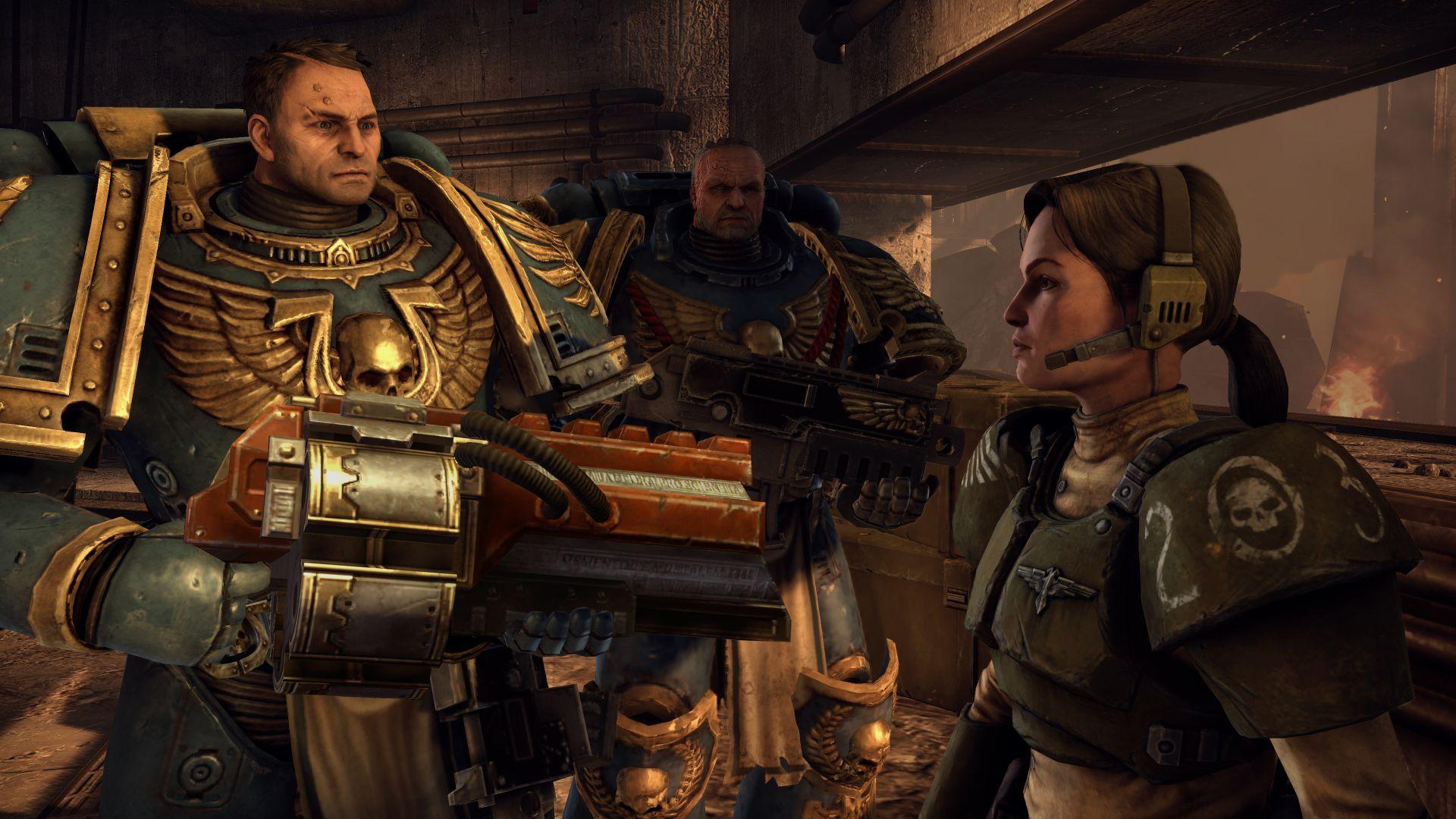 Warhammer 40,000: Space Marine – sympatická jatka 42261