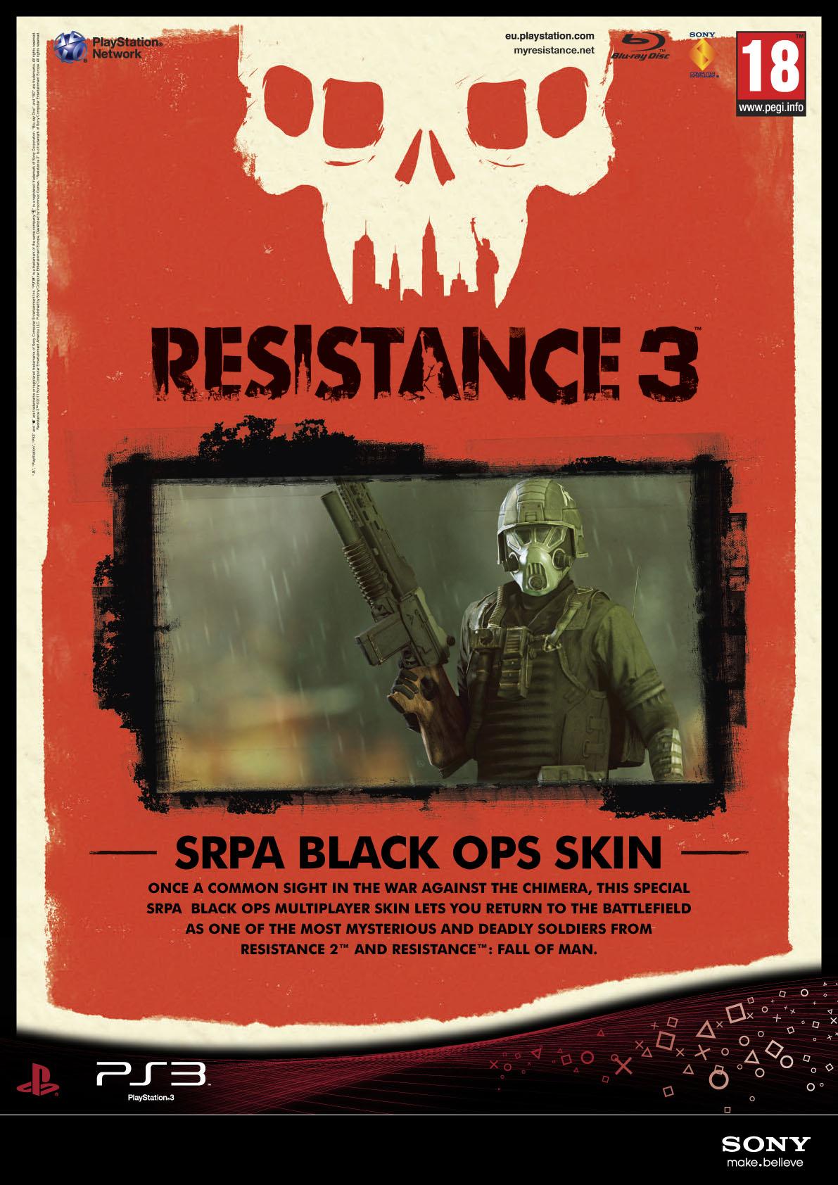 Resistance 3 odhaluje datum vydání + speciální edice 42284