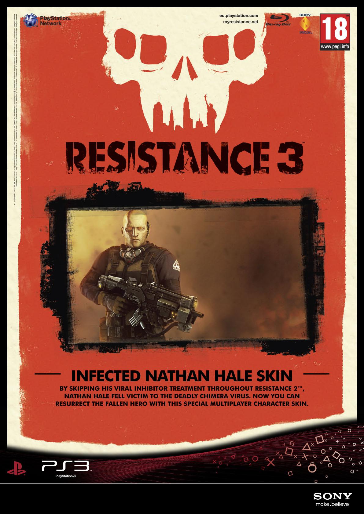 Resistance 3 odhaluje datum vydání + speciální edice 42285