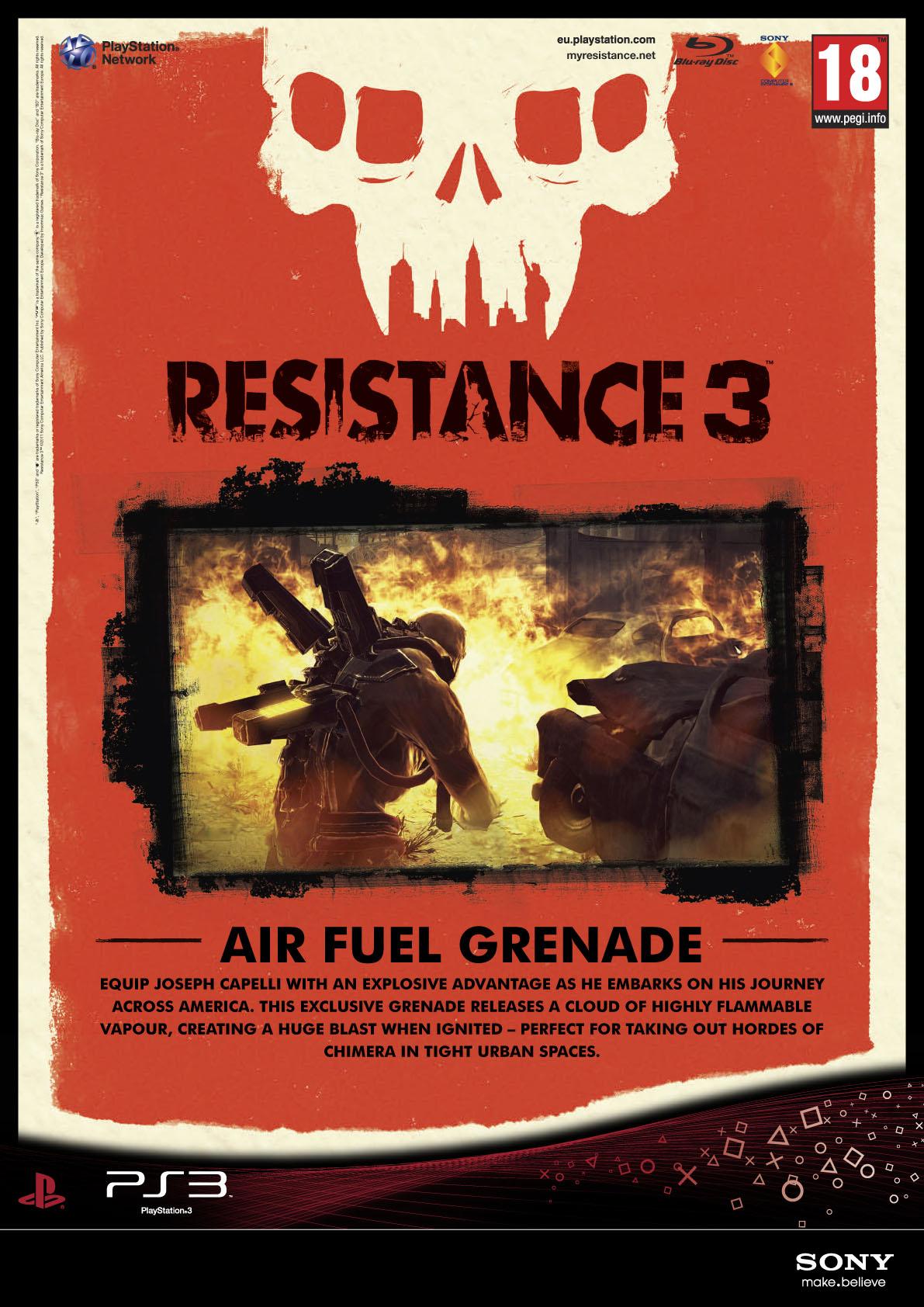 Resistance 3 odhaluje datum vydání + speciální edice 42286