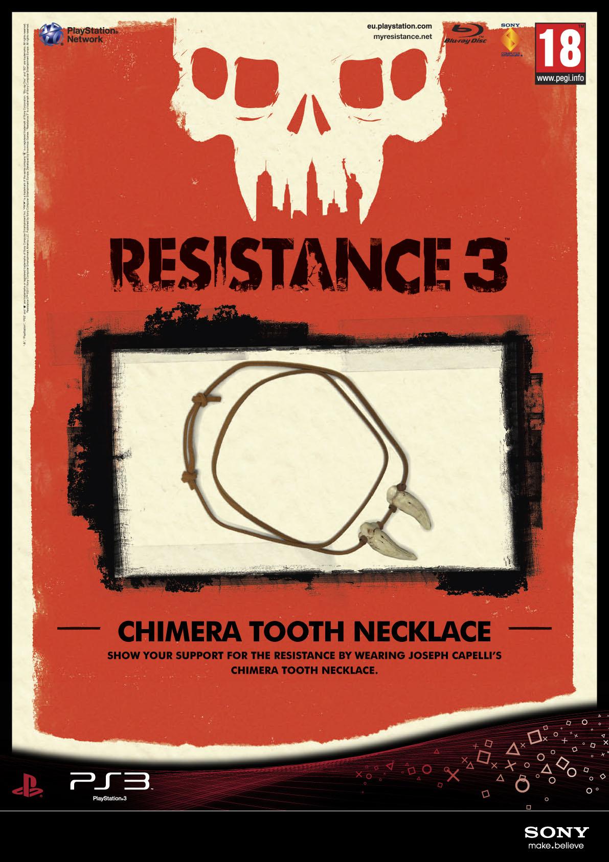 Resistance 3 odhaluje datum vydání + speciální edice 42287