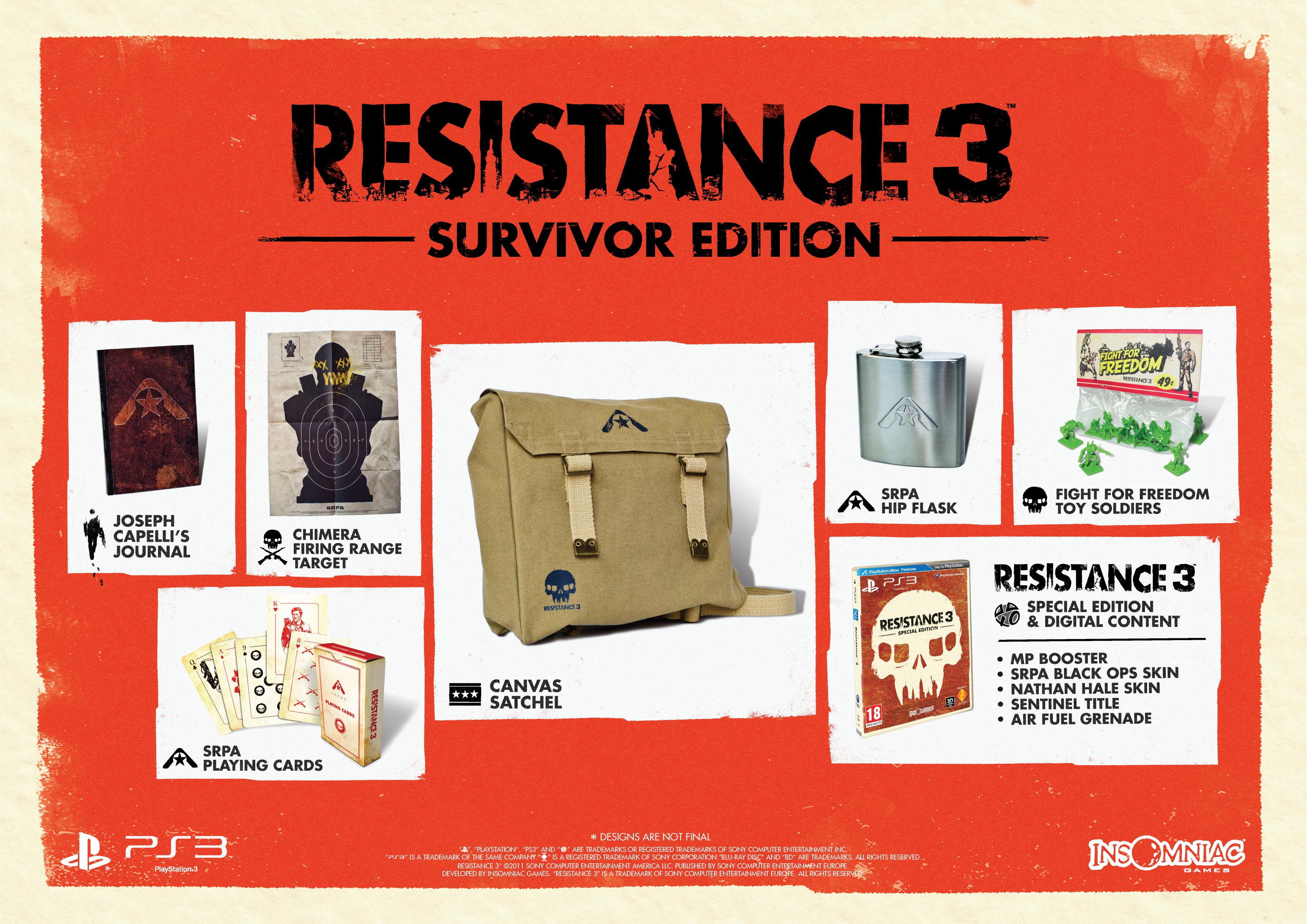 Resistance 3 odhaluje datum vydání + speciální edice 42289