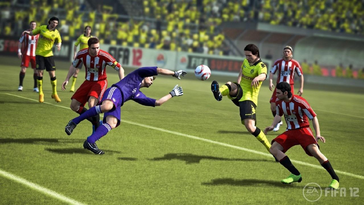 PC verze FIFA 12 srovnatelná s konzolovou 42535