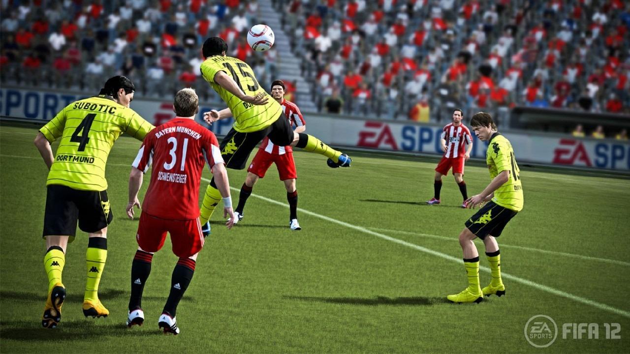 FIFA 12 a PES 2012 v nabušených galeriích 42537