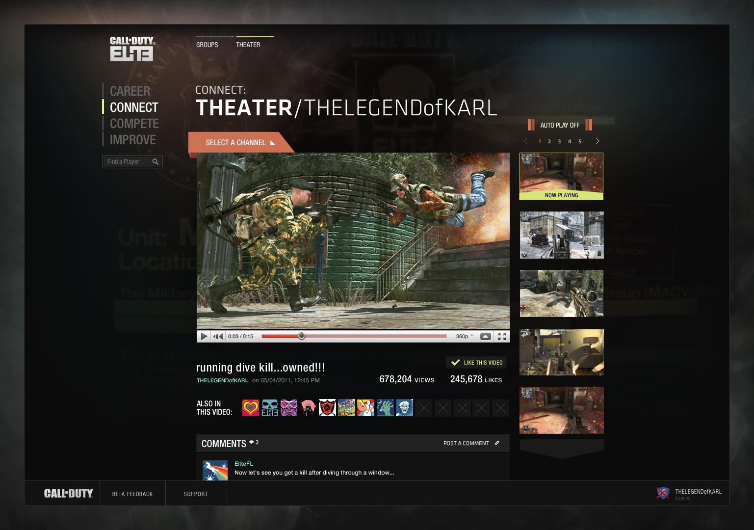 Call of Duty: Elite – jako bychom to už někde viděli 42655