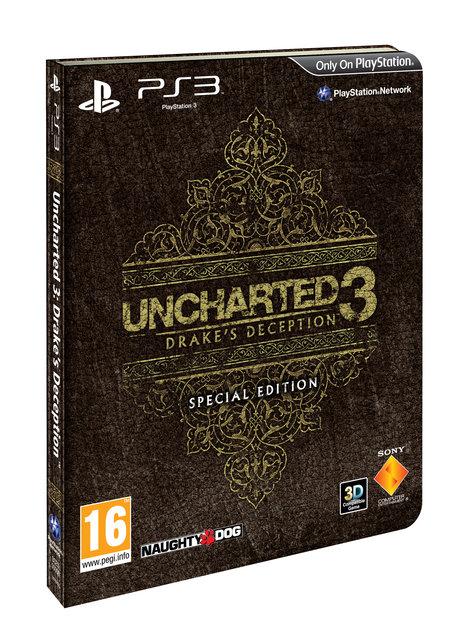Uncharted 3 se speciální edicí 42959
