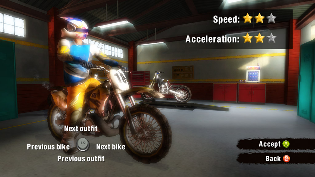 Konami kutí motokrosové závody 43322
