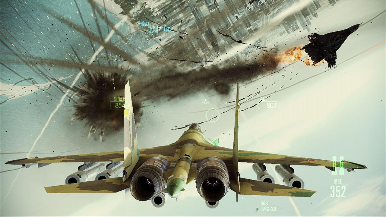 Ace Combat: Assault Horizon – oceloví andělé 44000