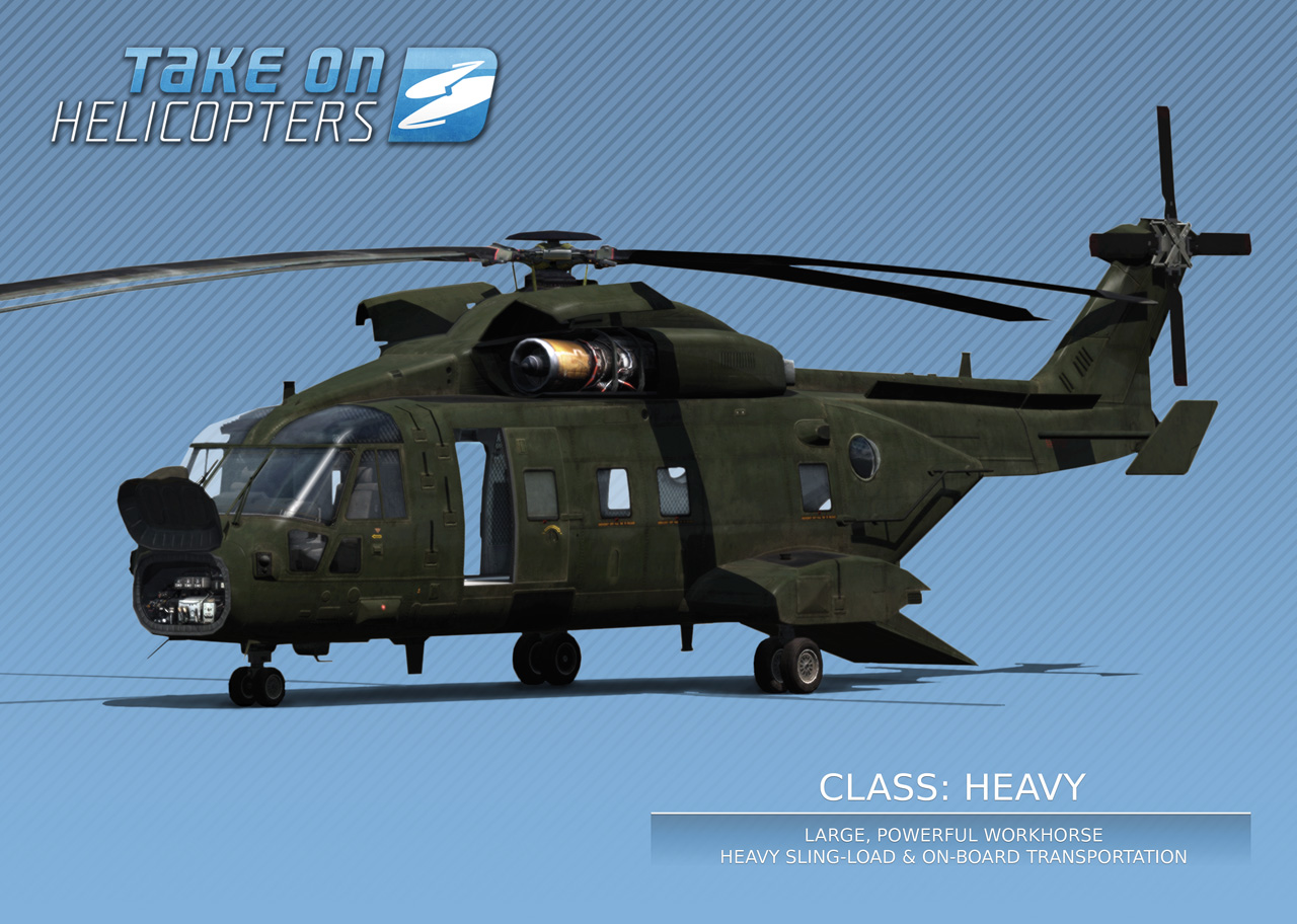 Take On Helicopters v detailech 44290