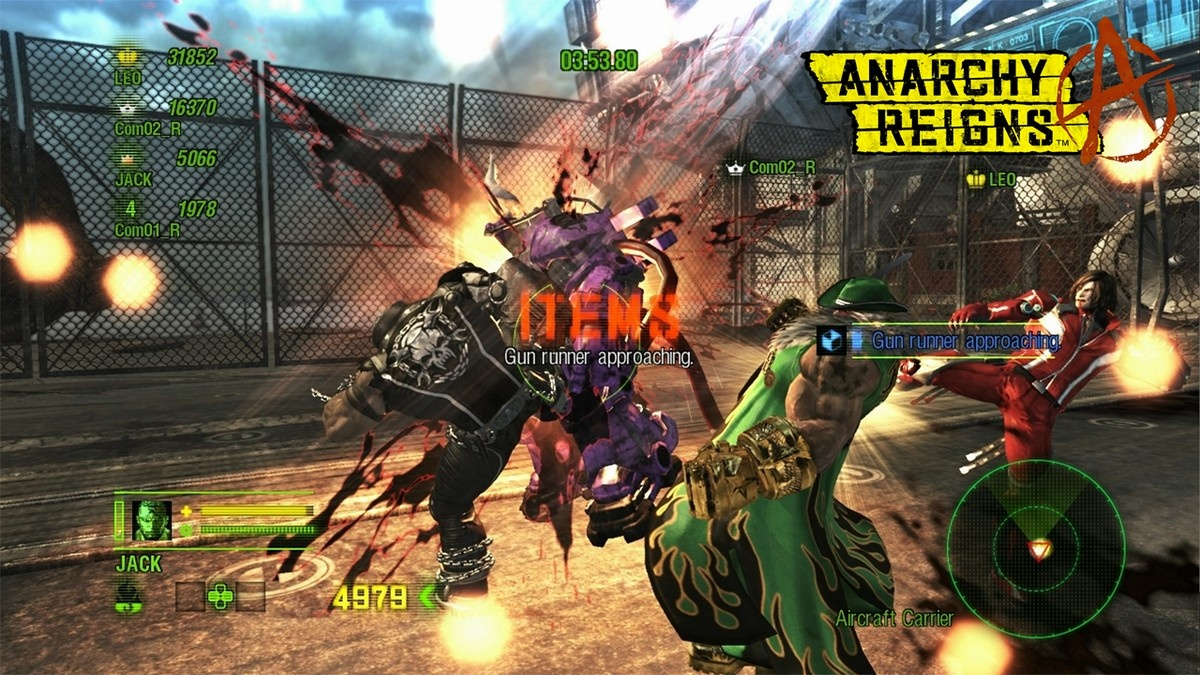 E3 2011: Chaotický trailer z Anarchy Reigns 44309