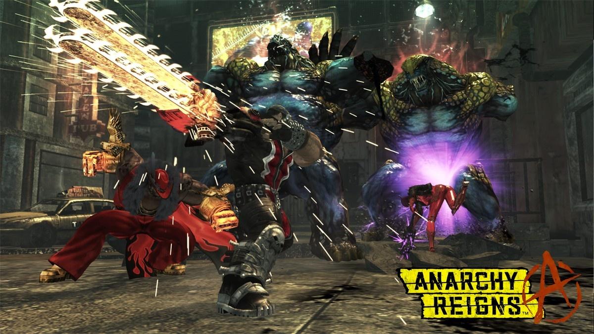 E3 2011: Chaotický trailer z Anarchy Reigns 44312