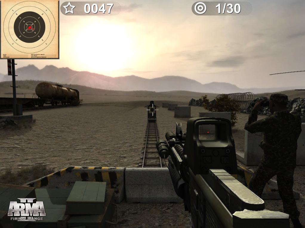 E3 2011: Oznámeno Arma II: Firing Range 44321
