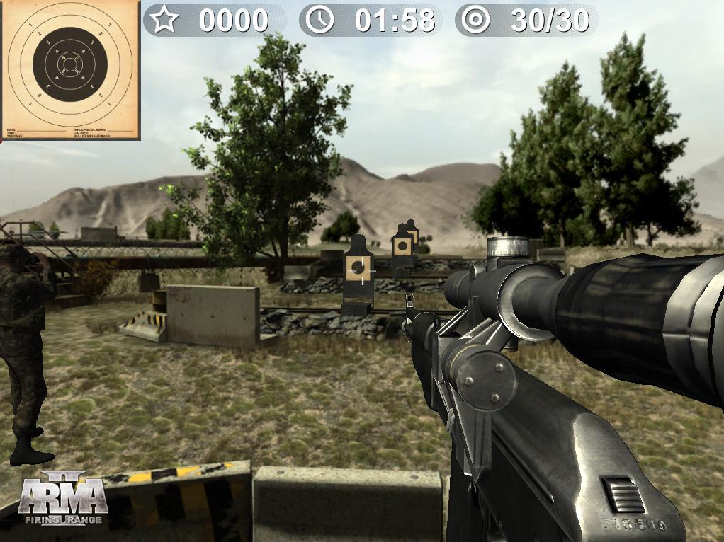 E3 2011: Oznámeno Arma II: Firing Range 44322