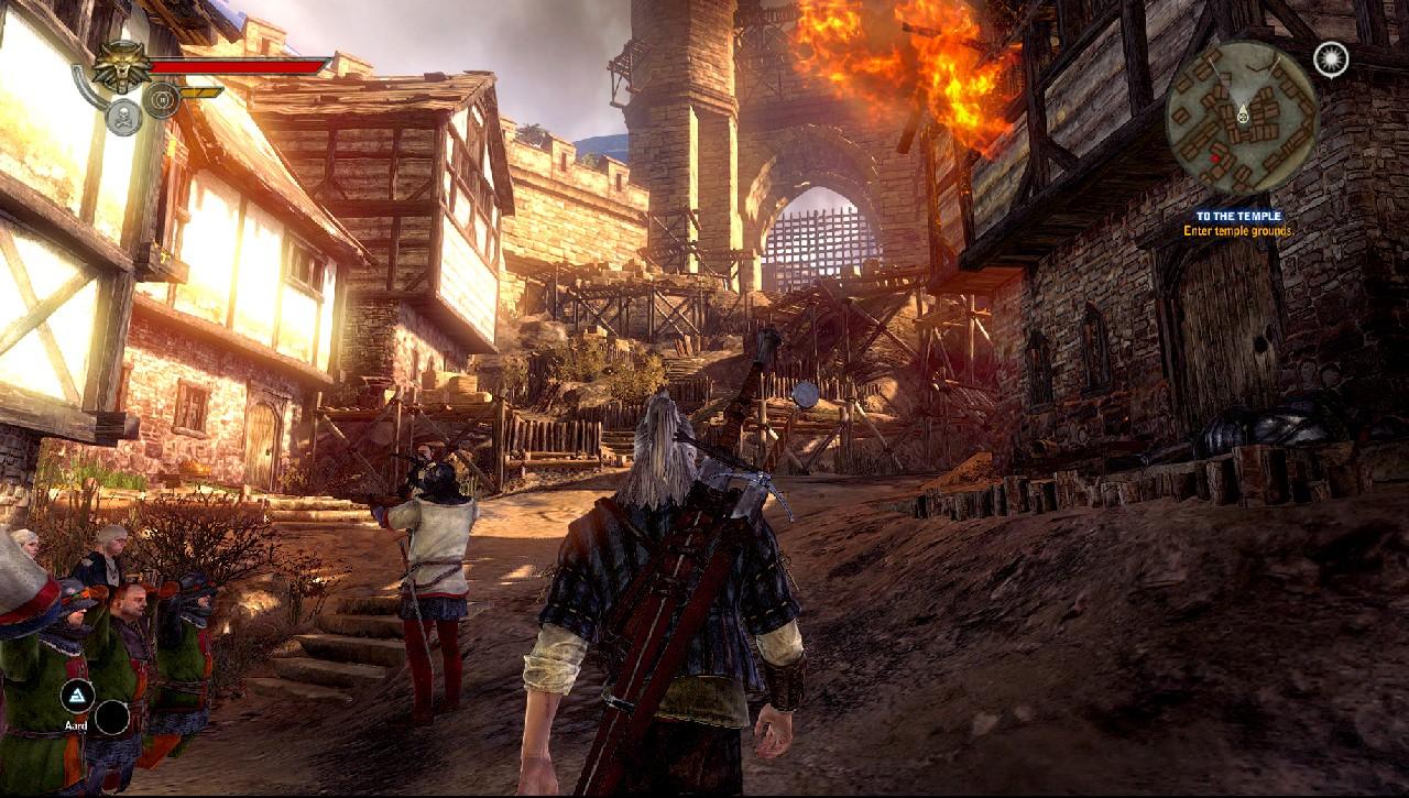 E3 2011: Obrázky z X360 verze Zaklínače 2 44353